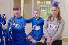 PL Primary Stars: The girls team and Everton