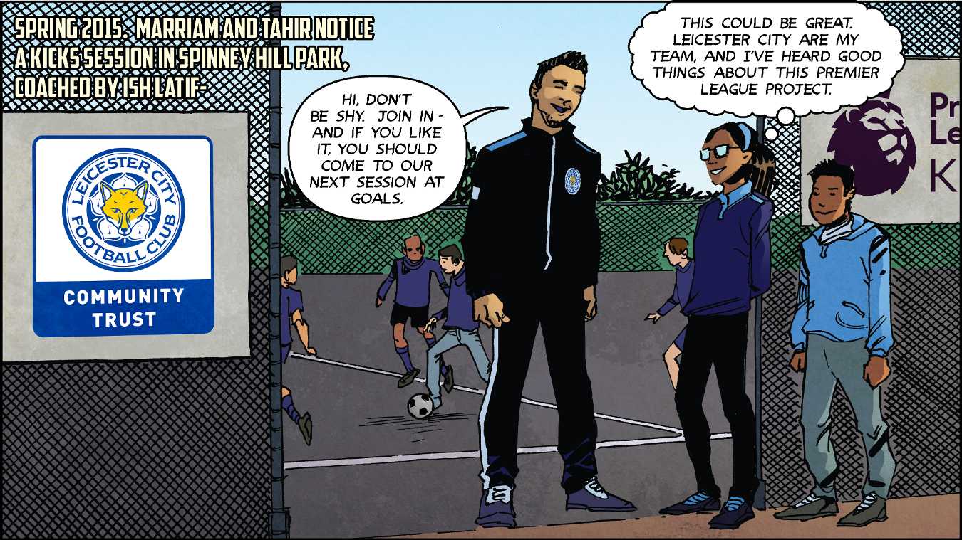 The PL Kicks Heroes campaign was launched with comic strips produced for all of the Kicks Heroes