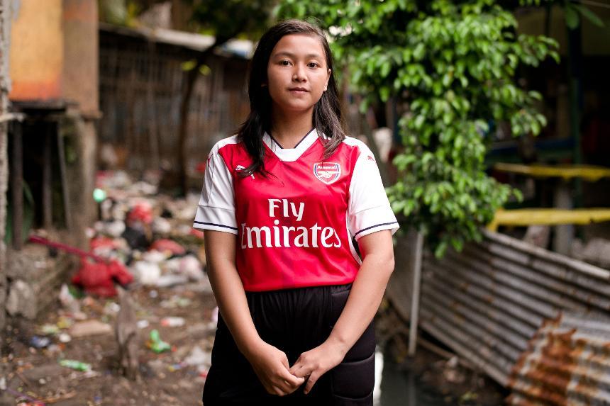 Arsenal Foundation Offering Gita Hope