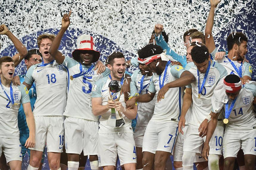 England win FIFA Under-20 World Cup
