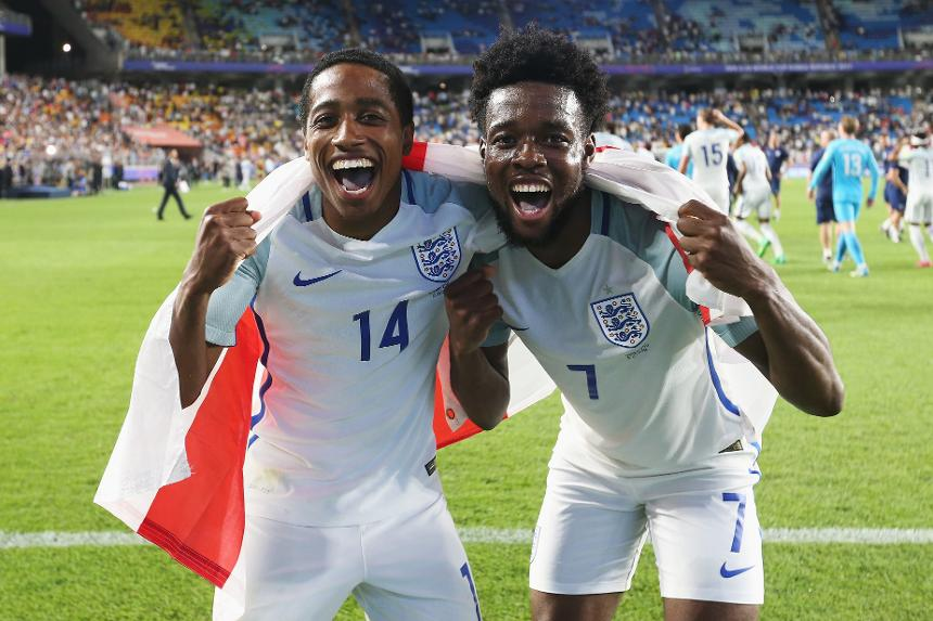 Kyle Walker-Peters and Josh Onomah, England U20 World Cup