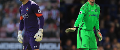 Fraser Forster of Southampton and AFC Bournemouth's and Asmir Begovic