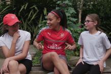 PL Primary Stars: Alicia & Sarah and Arsenal