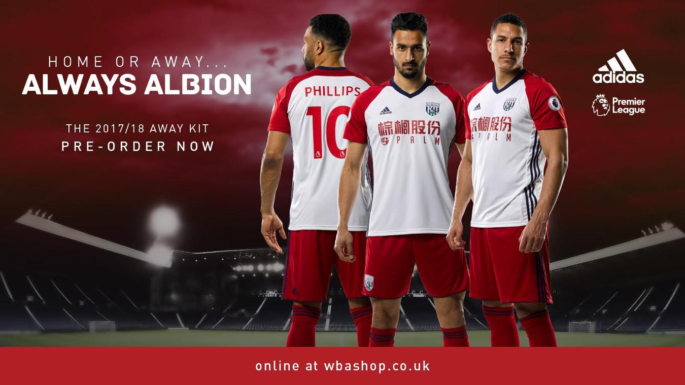 New Premier League kits for season 2017/18