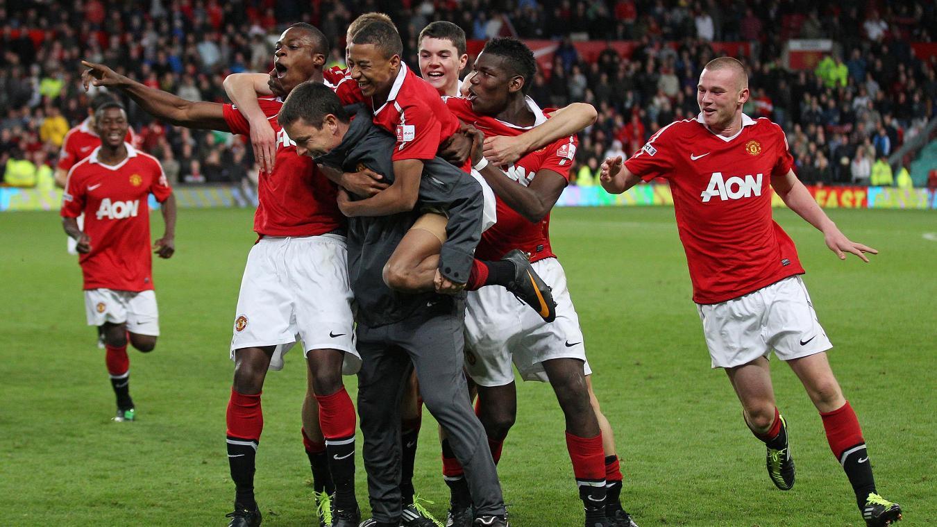 Paul McGuinness, Man Utd