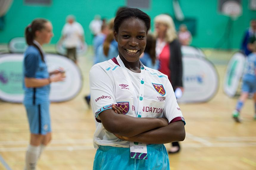 Vivienne, West Ham United Foundation