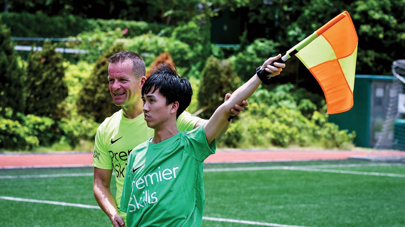 Premier Skills referee course in Hong Kong
