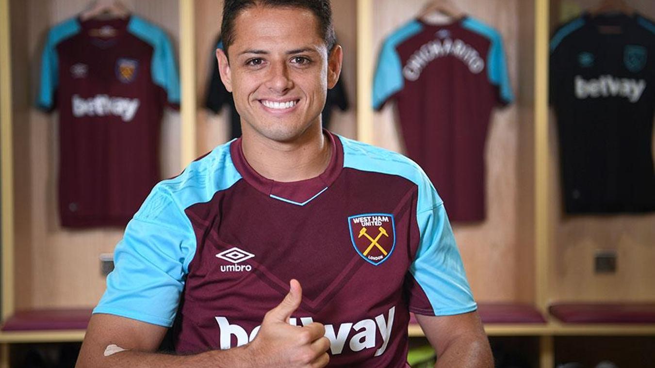 Javier Hernandez, West Ham United