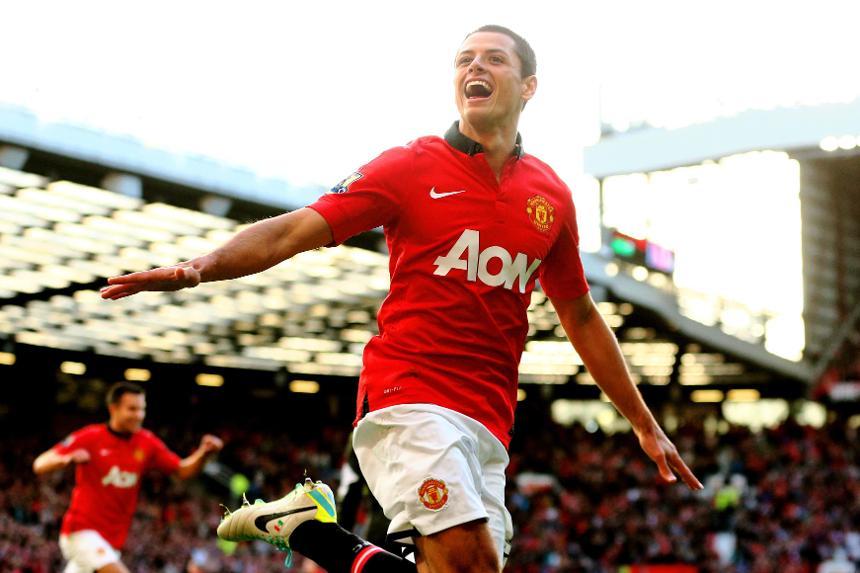 Javier Hernandez, Man Utd