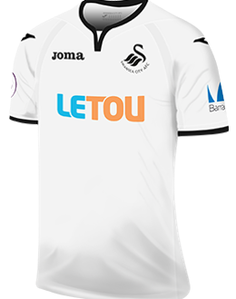Swansea home kit, 2017-18