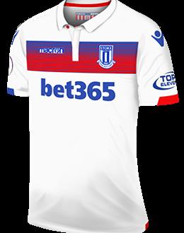 Stoke third kit, 2017-18
