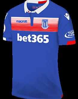 Stoke away kit, 2017-18