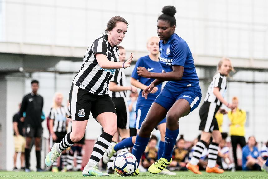 PL Girls National Football Festival, Megan, Newcastle United Foundation
