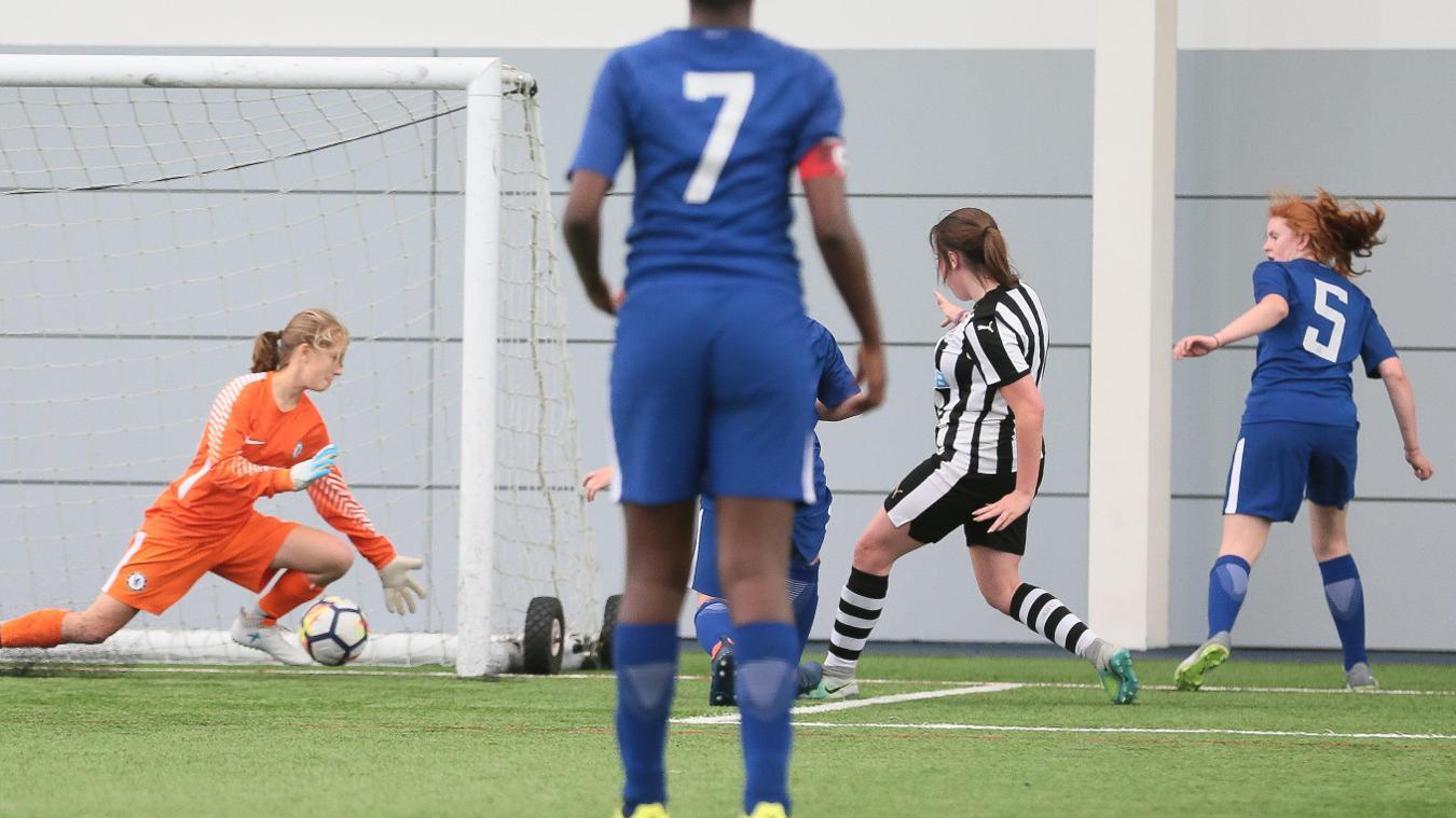 PL Girls National Football Festival, Megan goal