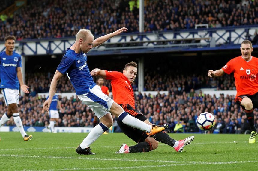 Davy Klaassen, Everton