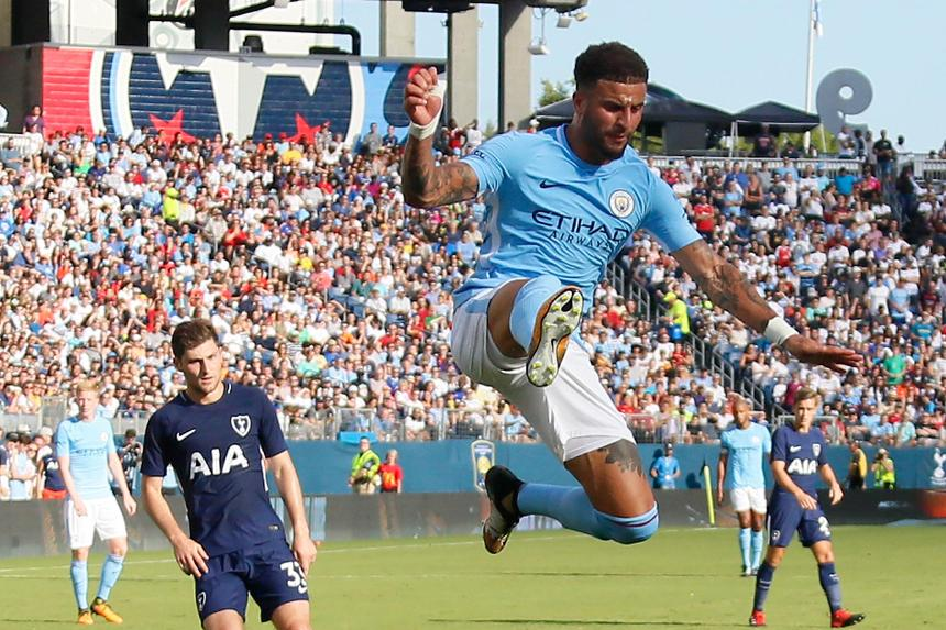 Kyle Walker, Man City