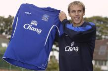 On this day in 2005: Phil Neville joins Everton
