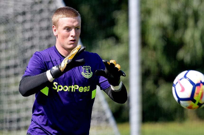 Jordan Pickford, Everton