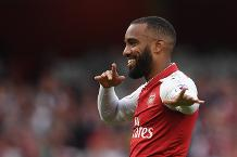 Shearer impressed with Lacazette debut