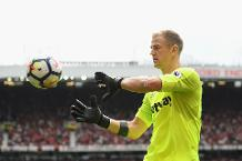 Hart is a leader, says Schmeichel