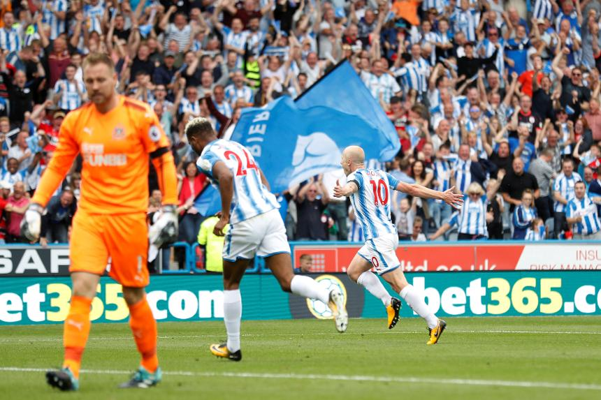 Huddersfield Town 1-0 Newcastle United