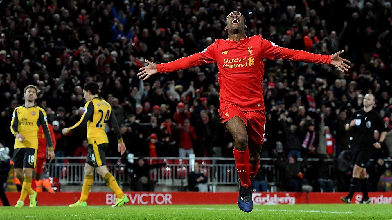 Liverpool v Arsenal, 27 August
