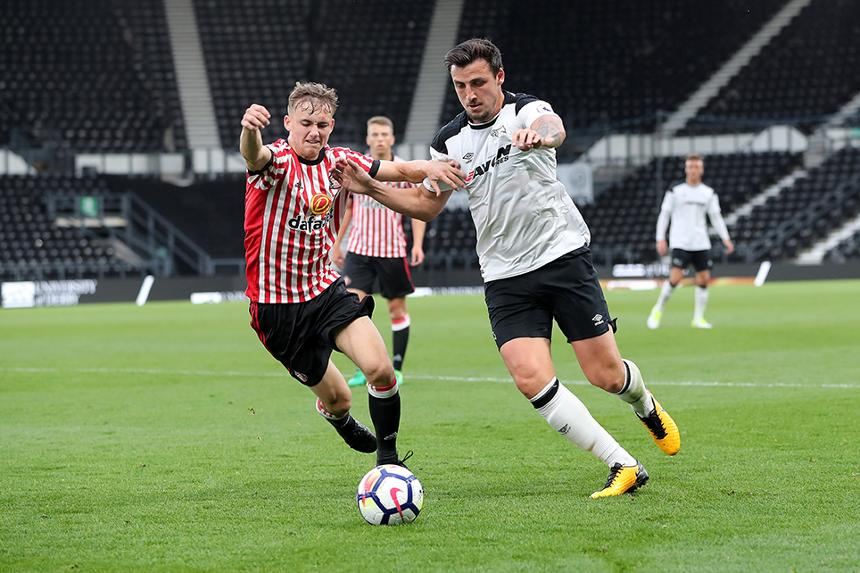 George Thorne in PL2 action for Derby