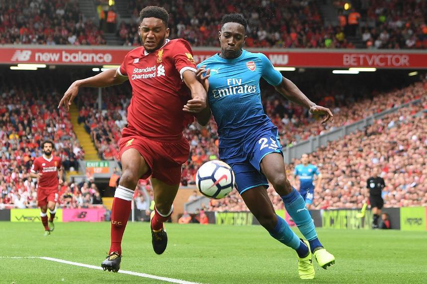 Liverpool v Arsenal, Joe Gomez