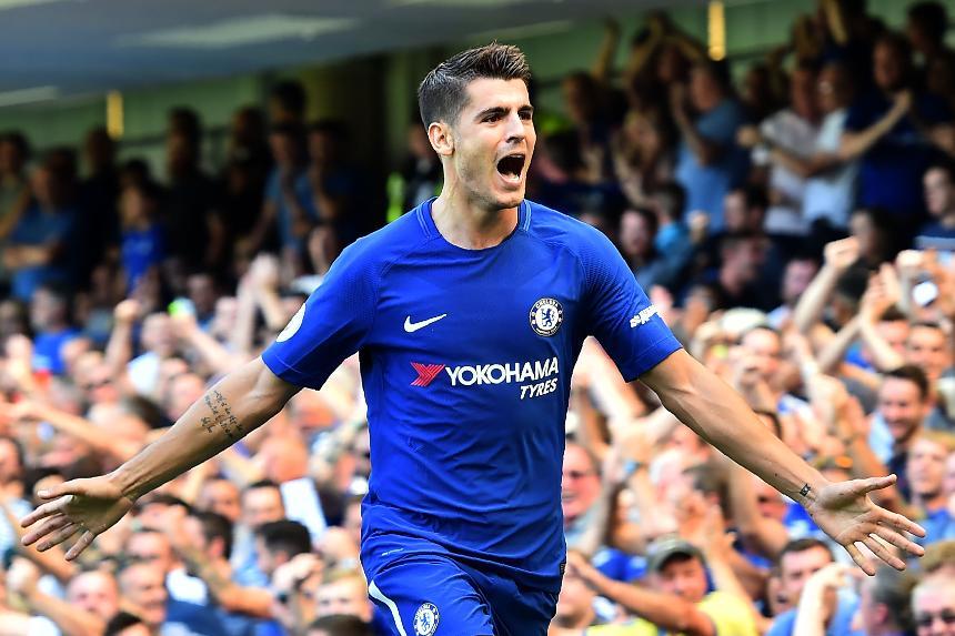 Chelsea v Everton, Alvaro Morata