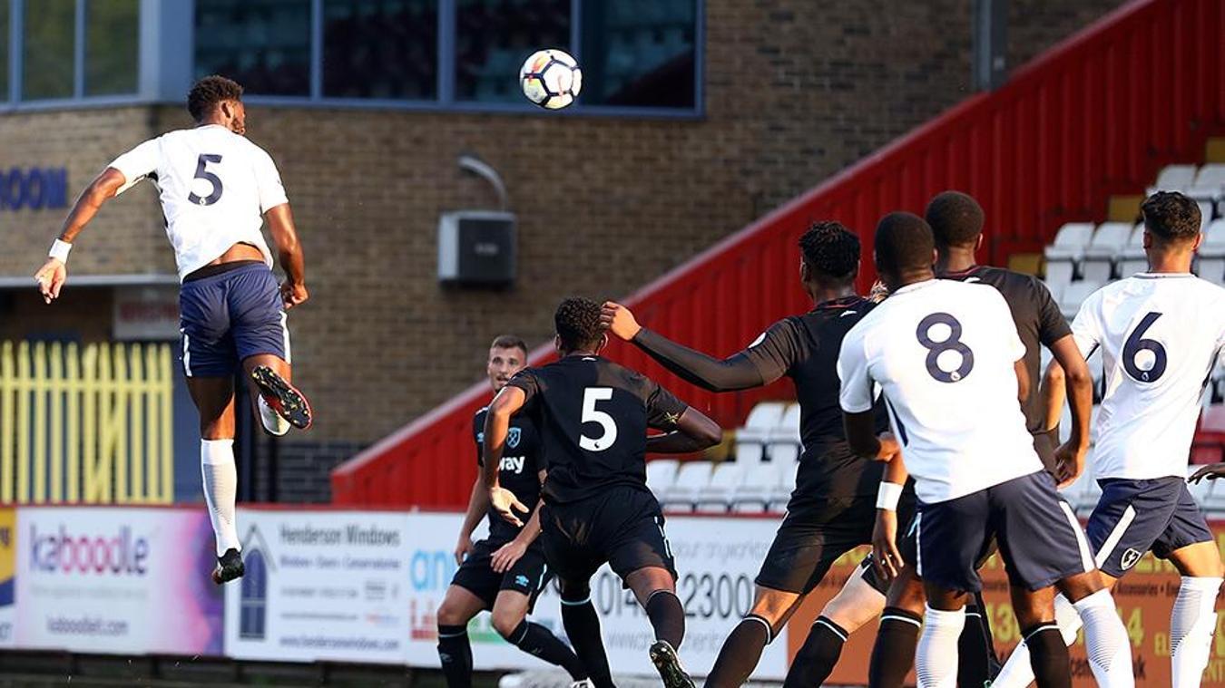 Spurs 7-2 West Ham, PL International Cup