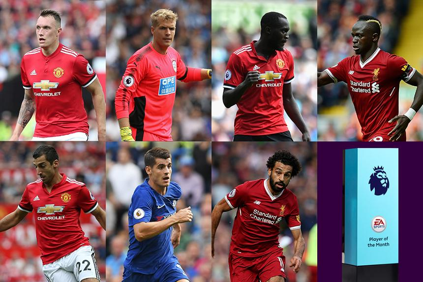 EA SPORTS Player of the Month shortlist