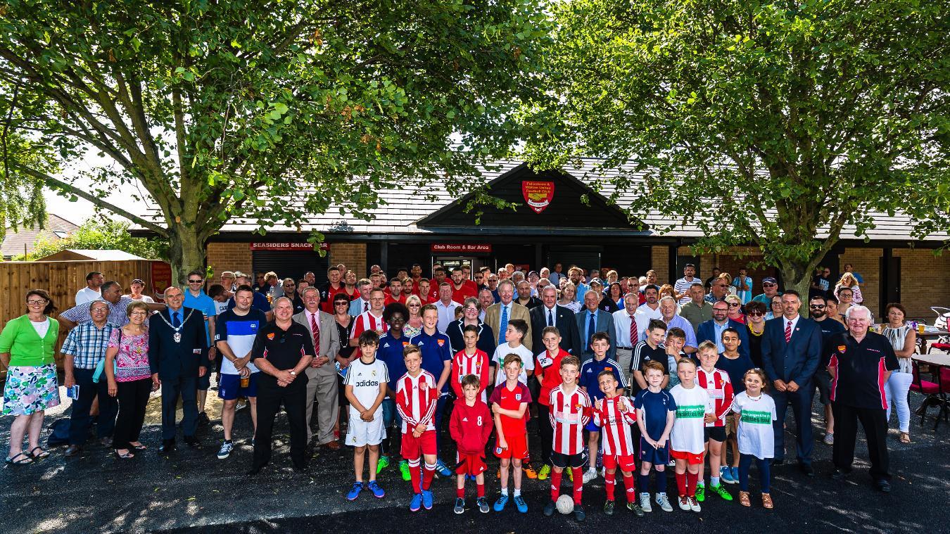 Felixstowe & Walton clubhouse opening