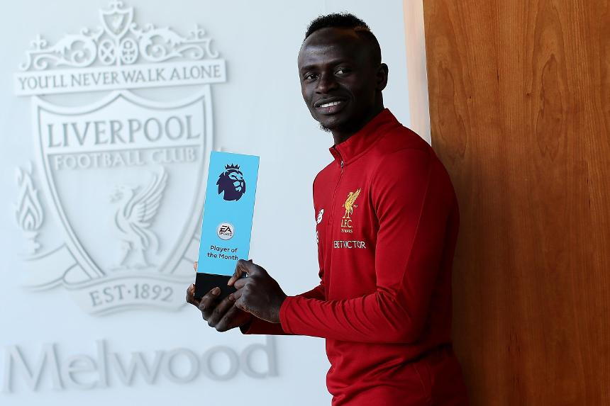 Sadio Mane, Liverpool, August EA SPORTS Player of the Month