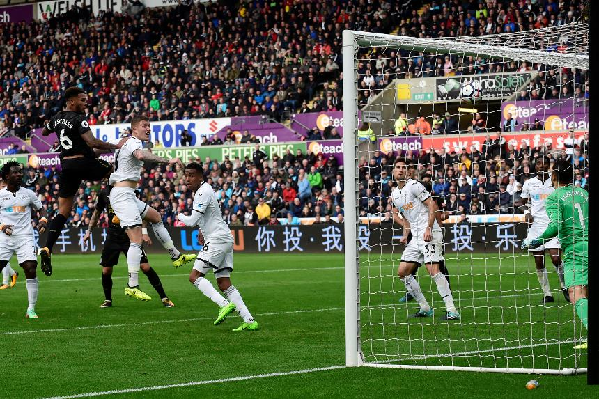 Swansea City v Newcastle United