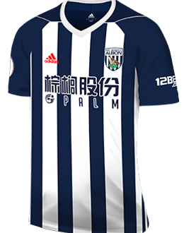 West Brom home kit, 2017-18
