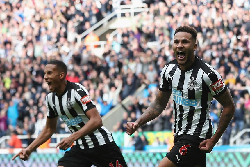 Newcastle United 2-1 Stoke City