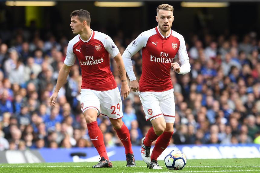 Arsenal - Granit Xhaka & Aaron Ramsey