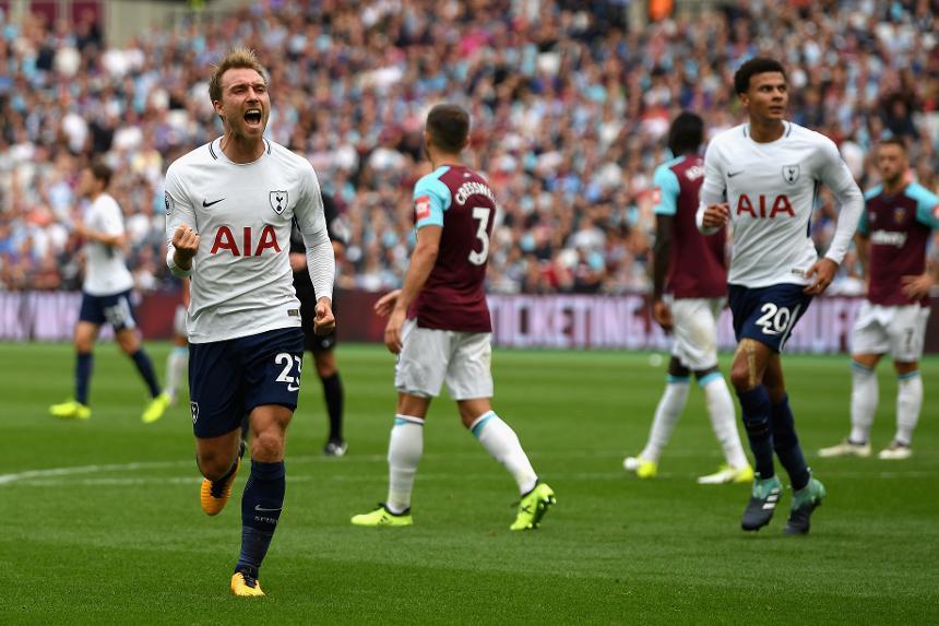 West Ham 2-3 Tottenham Hotspur