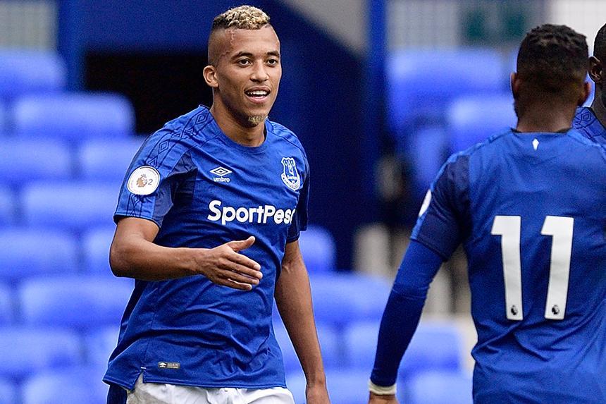 David Henen, Everton