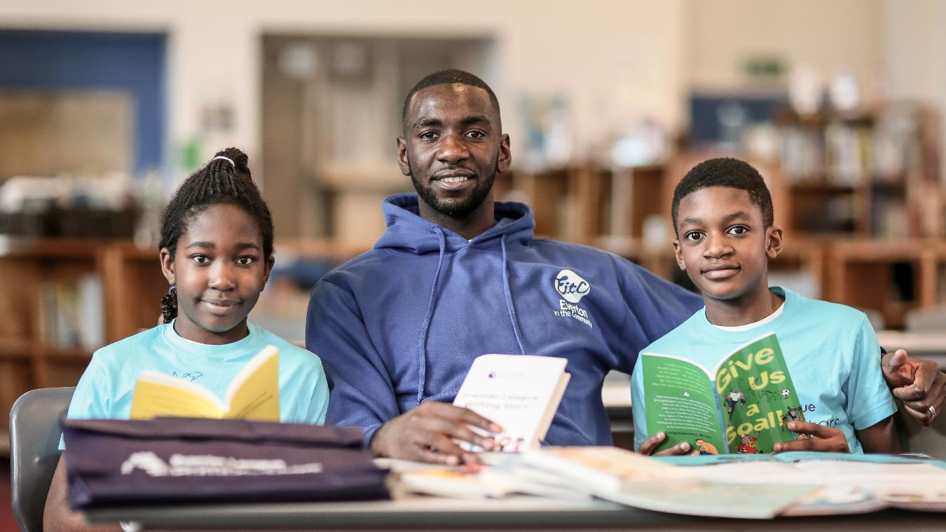 Yannick Bolasie launches Premier League Writing Stars