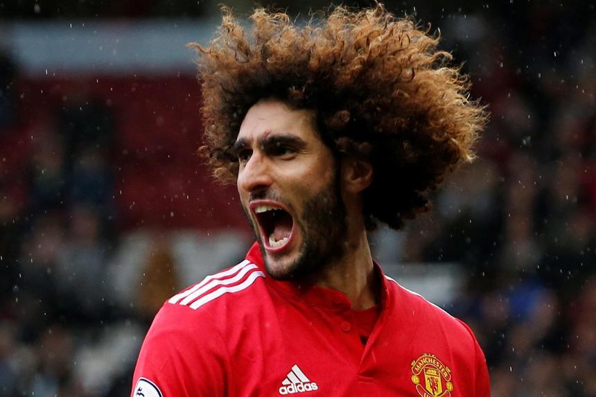 Manchester United vs Crystal Palace, Marouane Fellaini