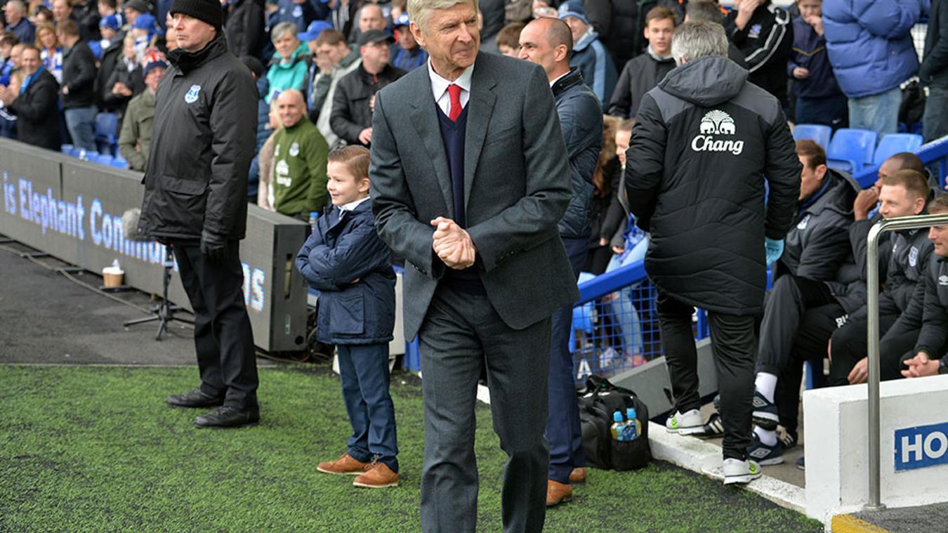 Everton v Arsenal, 22 October