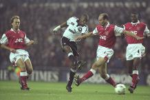 On this day in 1997: Derby 3-0 Arsenal