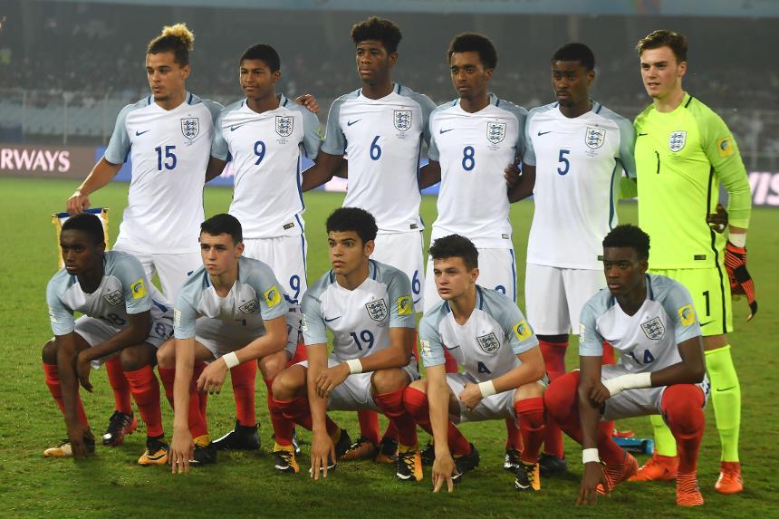 England Under-17 team