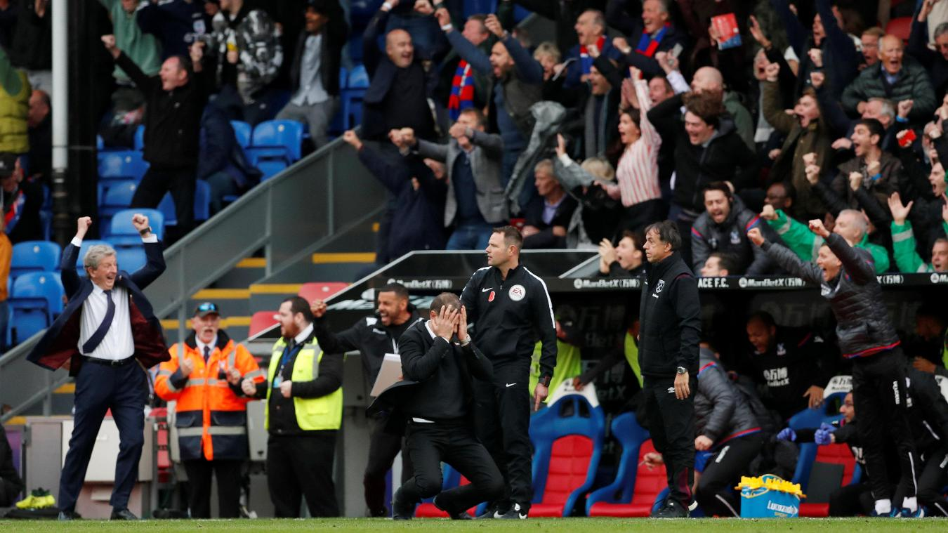 Crystal Palace 2-2 West Ham