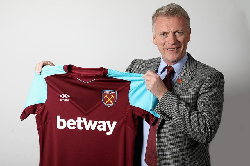 David Moyes appointed West Ham manager