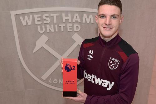 Rice wins October's PL2 Player of the Month