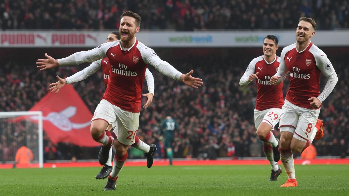 Arsenal 2-0 Tottenham Hotspur