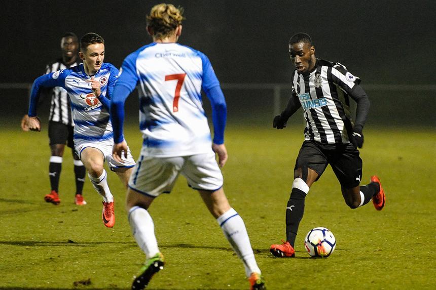 Newcastle v Reading, PL2