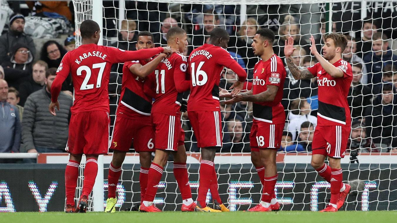 Newcastle United 0-3 Watford